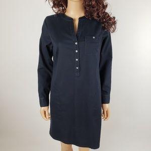 ✿❀ J. Jill Dark Chambray Stretch Dress 6/8 ❀✿